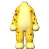 "The ""Cheetah Suit"" Mii costume"