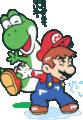 SMWGPB6 Yoshi Thanking Mario.png