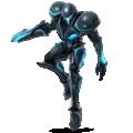 Dark Samus artwork for Super Smash Bros. Ultimate