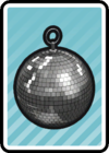 A Disco Ball Card in Paper Mario: Color Splash.