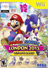 Mario & Sonic at the London 2012 Olympic Games boxart.
