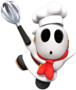 Shy Guy (Pastry Chef) from Mario Kart Tour