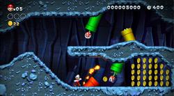 An underground course.