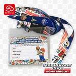 Mario Kart Live: Home Circuit lanyard and card holder My Nintendo reward