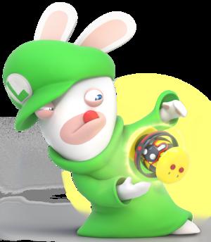 Rabbid Luigi - RabbidsKingdomBattle.png