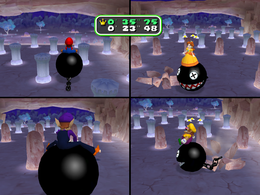 Throw Me a Bone at night from Mario Party 6