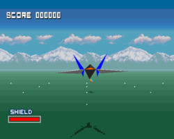 Star Fox in WarioWare: Smooth Moves.
