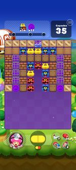 Stage 244 from Dr. Mario World since version 2.0.0