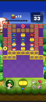 Stage 256 from Dr. Mario World