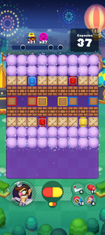 Stage 673 from Dr. Mario World