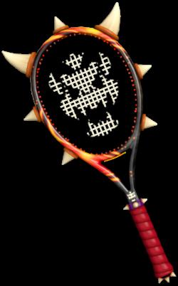 Dry Bowser Tennis Racket (Profile)