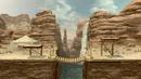 Gerudo Valley stage in Super Smash Bros. Ultimate