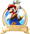 Logo Sunshine - Super Mario 3D All-Stars.png