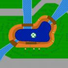 Yoshi Falls map