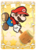 Maxes out all Paper Mario's copies.