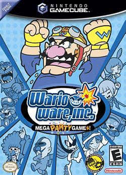 WarioWare, Inc.: Mega Party Game$! box art