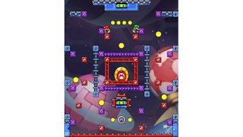 Miiverse screenshot of the 66th official level in the online community of Mario vs. Donkey Kong: Tipping Stars