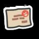 The Mountain Climbing Permit icon from Paper Mario: Color Splash
