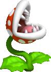 Artwork of a Piranha Plant from Super Mario 3D Land