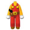 """The """"Builder Mario Outfit"""" Mii costume"""