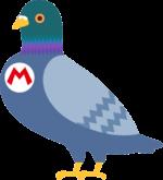 Artwork of Yamamura from Super Mario Maker.
