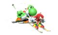 Yoshi Artwork - Mario & Sonic Sochi 2014.png