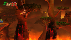 Screenshot of Donkey Kong Country: Tropical Freeze.