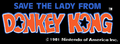 DK Logo Save the Lady from Donkey Kong.png