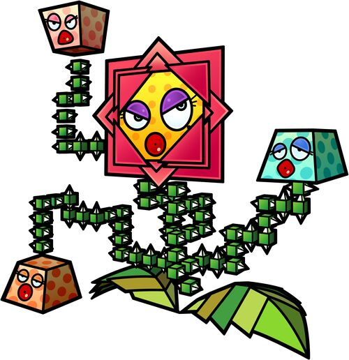 Artwork of King Croacus IV from Super Paper Mario.