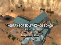 Hooray for Holly-Kongo Bongo title screen