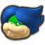 Ludwig's head icon in Mario Kart 8