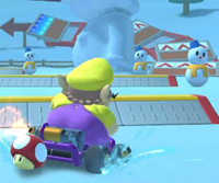 The Wario Cup Challenge from the Vancouver Tour of Mario Kart Tour