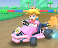 The icon of the Morton Cup's challenge from the Cooking Tour in Mario Kart Tour.