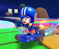 The icon of the Baby Daisy Cup challenge from the Snow Tour in Mario Kart Tour