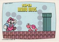 A Nintendo Game Pack scratch-off game card of Super Mario Bros. (Screen 9 of 10)
