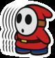 Shy Guy 5-Stack sprite from Paper Mario: Color Splash