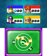 Puzzle Pronto from Mario Party: Island Tour