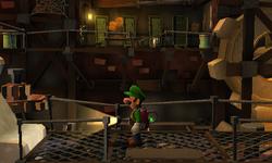 The Crank Room segment from Luigi's Mansion: Dark Moon.