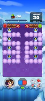 Stage 1012 from Dr. Mario World