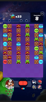 Stage 302 from Dr. Mario World
