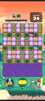 Stage 566 from Dr. Mario World