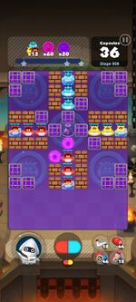 Stage 908 from Dr. Mario World