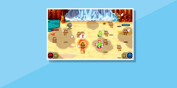 The image for the 5th question of Mario & Luigi Superstar Saga + Bowser's Minions Game Personality Quiz