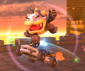 The icon of the Baby Peach Cup challenge from the 1st Anniversary Tour and the Birdo Cup challenge from the Bowser vs. DK Tour in Mario Kart Tour