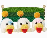 Picture of Poochy Pups from a page about their role in Poochy & Yoshi's Woolly World