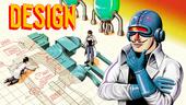 Design title screen.