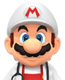 Sprite of Dr. Fire Mario from Dr. Mario World