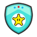 Rosalina's emblem from soccer from Mario Sports Superstars