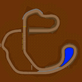 MKDS Choco Mountain Map.png