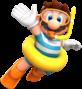 Mario (Swimwear) from Mario Kart Tour